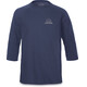Dakine Well Rounded 3/4 Raglan Tech T Men Heather Navy